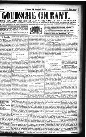Goudsche Courant 1922-01-27