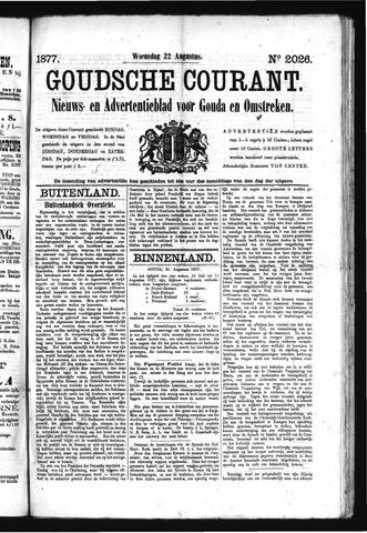 Goudsche Courant 1877-08-22