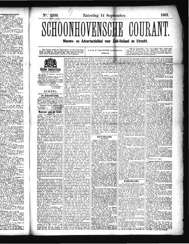 Schoonhovensche Courant 1901-09-14