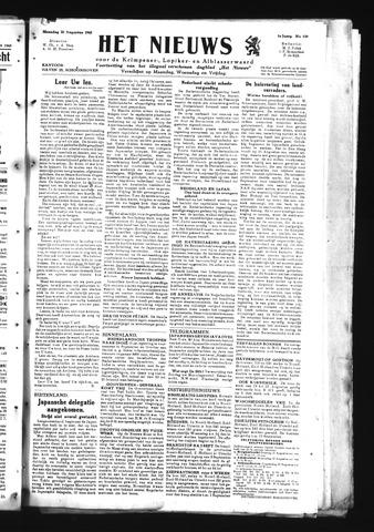 Schoonhovensche Courant 1945-08-20