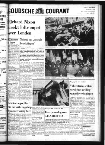 Goudsche Courant 1969-02-25