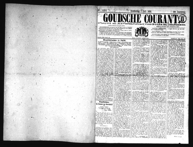 Goudsche Courant 1920-07-01