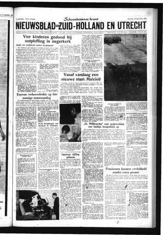 Schoonhovensche Courant 1963-09-16