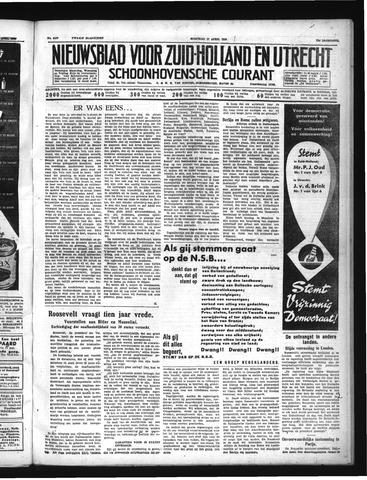 Schoonhovensche Courant 1939-04-17