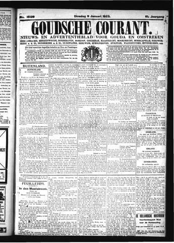 Goudsche Courant 1923-01-09