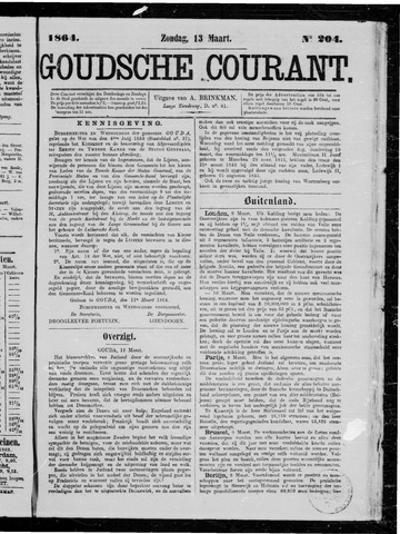 Goudsche Courant 1864-03-13
