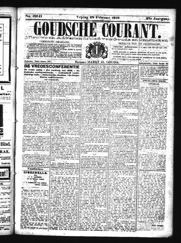 Goudsche Courant 1919-02-28