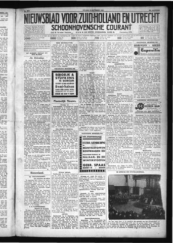 Schoonhovensche Courant 1931-09-18