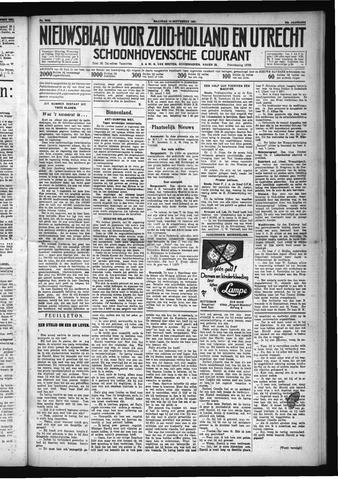 Schoonhovensche Courant 1931-09-14