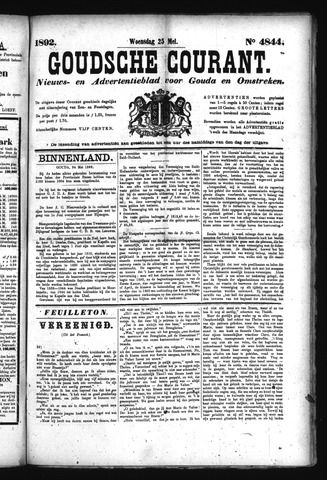 Goudsche Courant 1892-05-25