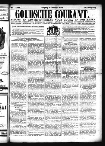 Goudsche Courant 1932-01-15