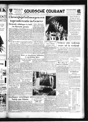 Goudsche Courant 1958-07-21