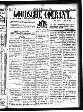 Goudsche Courant 1920-09-21