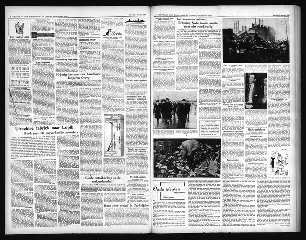 Schoonhovensche Courant 1960-02-01