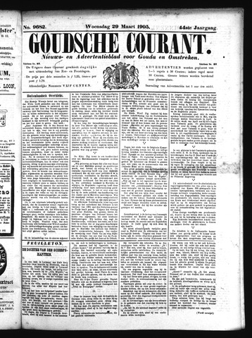 Goudsche Courant 1905-03-29