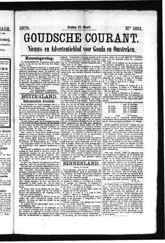 Goudsche Courant 1875-03-28