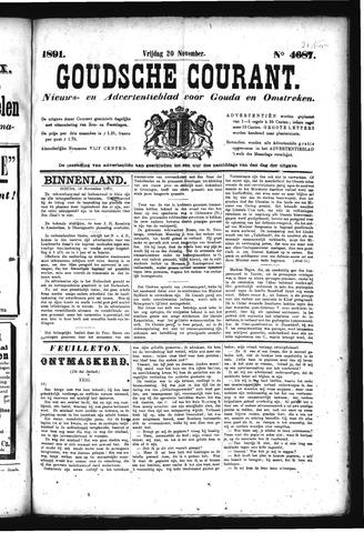 Goudsche Courant 1891-11-20