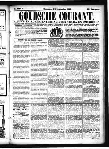 Goudsche Courant 1923-09-26