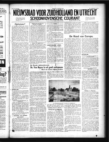 Schoonhovensche Courant 1949-08-12