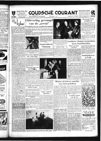 Goudsche Courant 1953-01-27
