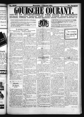 Goudsche Courant 1934-02-07