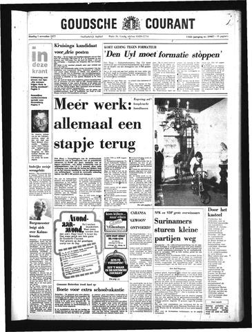 Goudsche Courant 1977-11-01