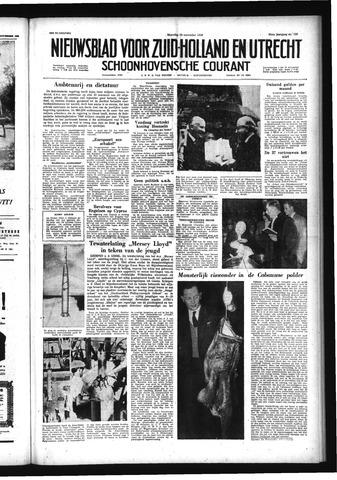 Schoonhovensche Courant 1958-11-10