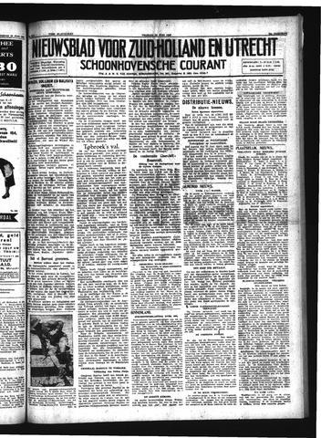 Schoonhovensche Courant 1942-06-26