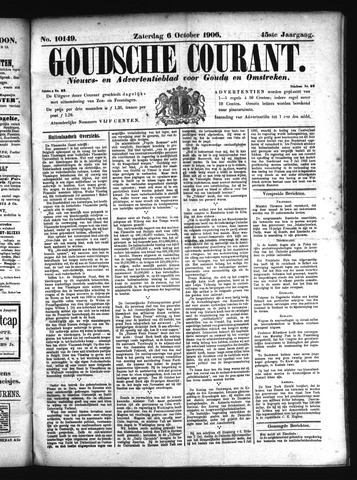 Goudsche Courant 1906-10-06