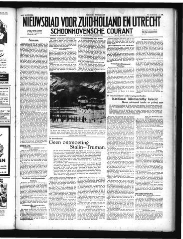 Schoonhovensche Courant 1949-02-04