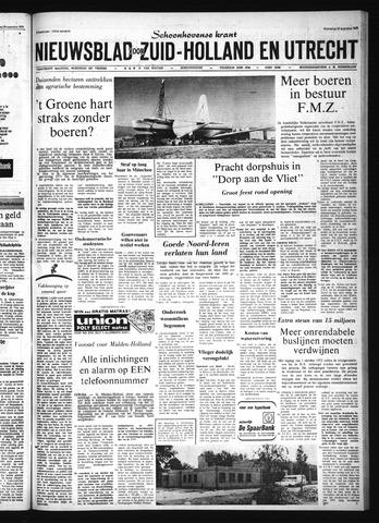 Schoonhovensche Courant 1972-08-30