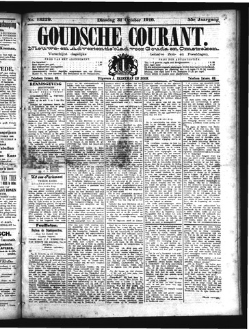 Goudsche Courant 1916-10-31