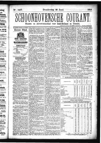 Schoonhovensche Courant 1913-06-26
