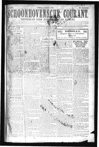 Schoonhovensche Courant 1925-01-02