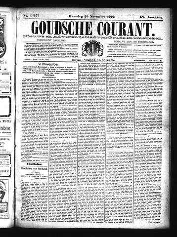 Goudsche Courant 1919-11-10