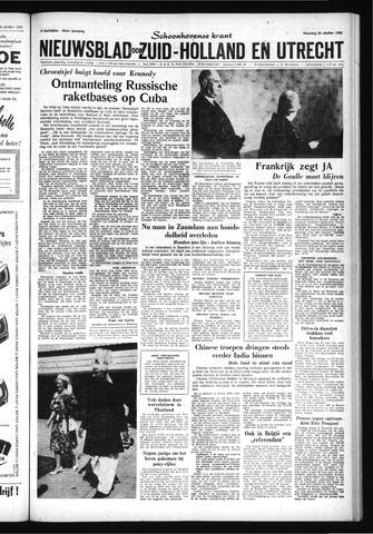 Schoonhovensche Courant 1962-10-29