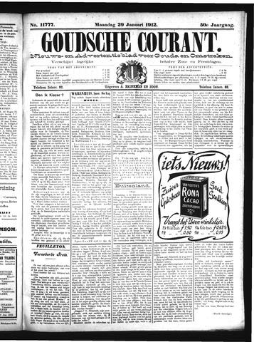 Goudsche Courant 1912-01-29