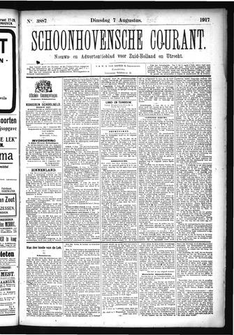 Schoonhovensche Courant 1917-08-07
