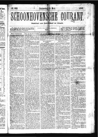 Schoonhovensche Courant 1886-05-08