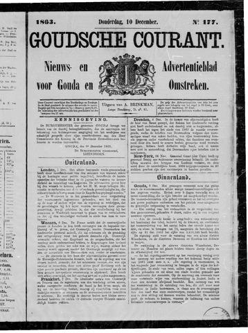 Goudsche Courant 1863-12-10