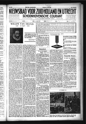 Schoonhovensche Courant 1933-04-21