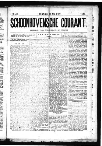 Schoonhovensche Courant 1878-03-31