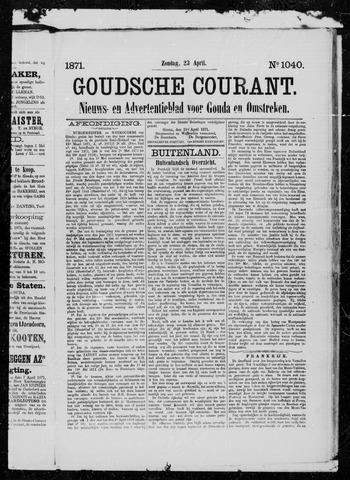 Goudsche Courant 1871-04-23