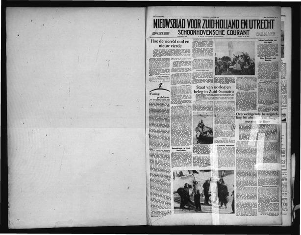 Schoonhovensche Courant 1957-01-02
