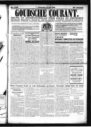 Goudsche Courant 1930-07-12