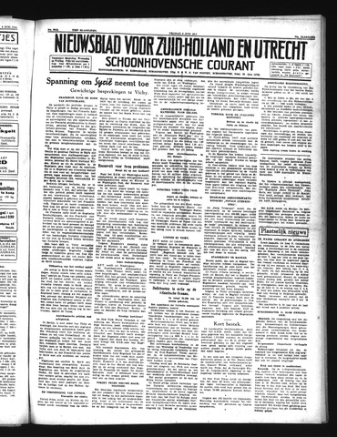 Schoonhovensche Courant 1941-06-06