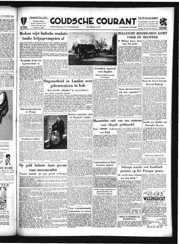 Goudsche Courant 1952-11-25