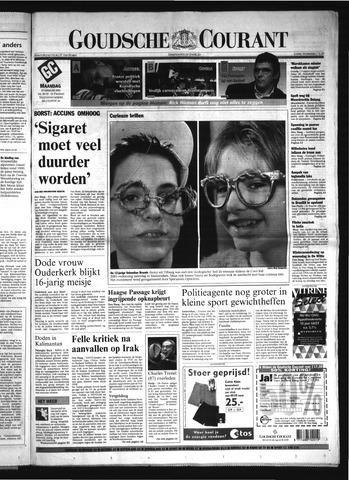 Goudsche Courant 2001-02-19