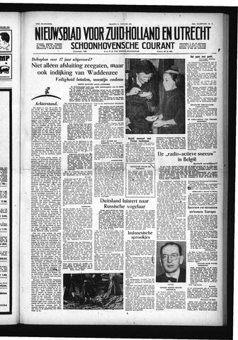 Schoonhovensche Courant 1955-01-21