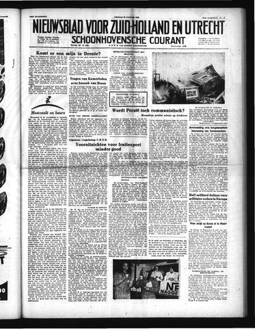 Schoonhovensche Courant 1952-01-25